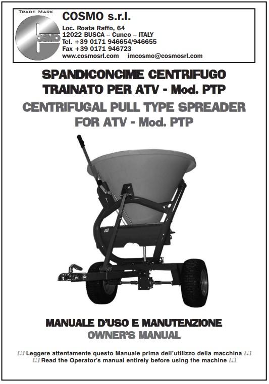 FSC180TPL quad spreader instruction manual